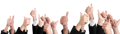 consensus, thumbs up, groupthink,